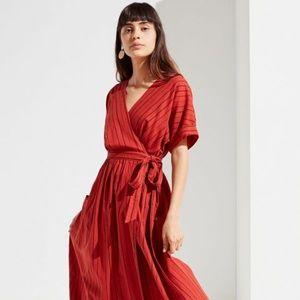 Urban Outfitters  Gabrielle Midi Wrap Dress Sz M